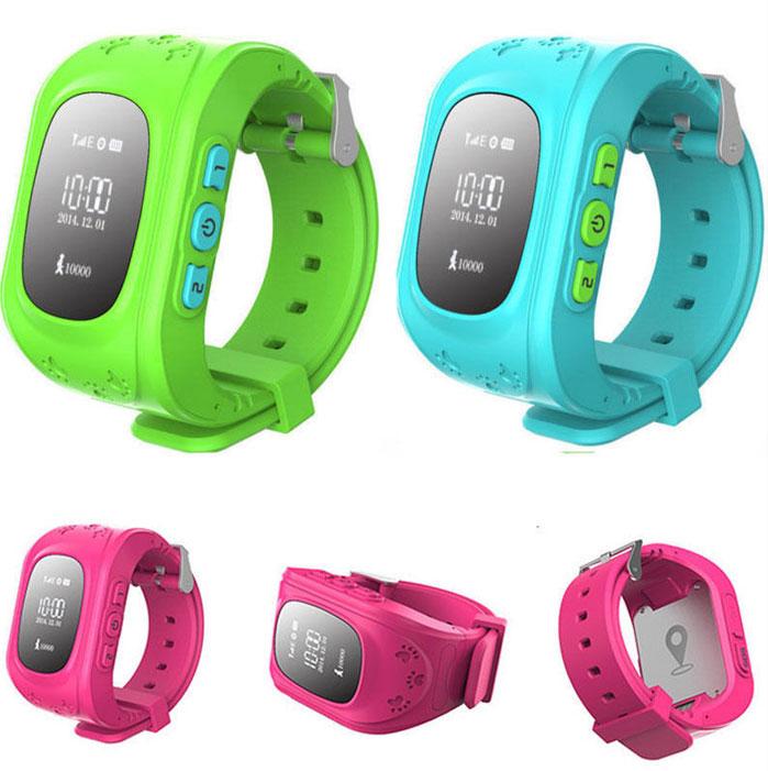 Часы трекер gps для детей Q50