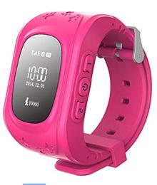 Детские GPS часы Smart Baby Watch Q50 розове