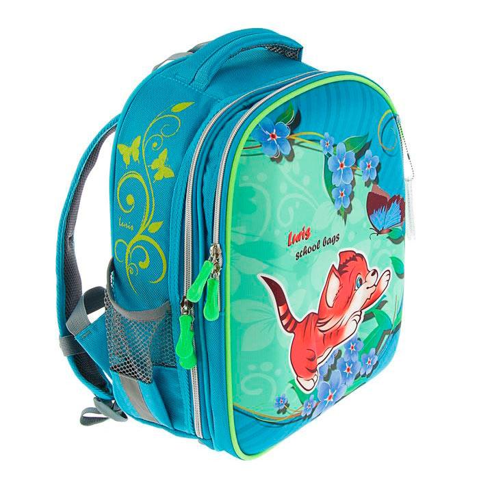 Школьный рюкзак для девочки Luris Джерри 1 Котик